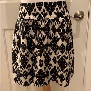 LOFT Linen Blend Unlined Skirt